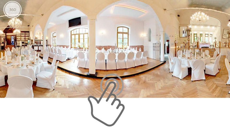 360 Grad Restaurant Rundgang Hochzeitslocation