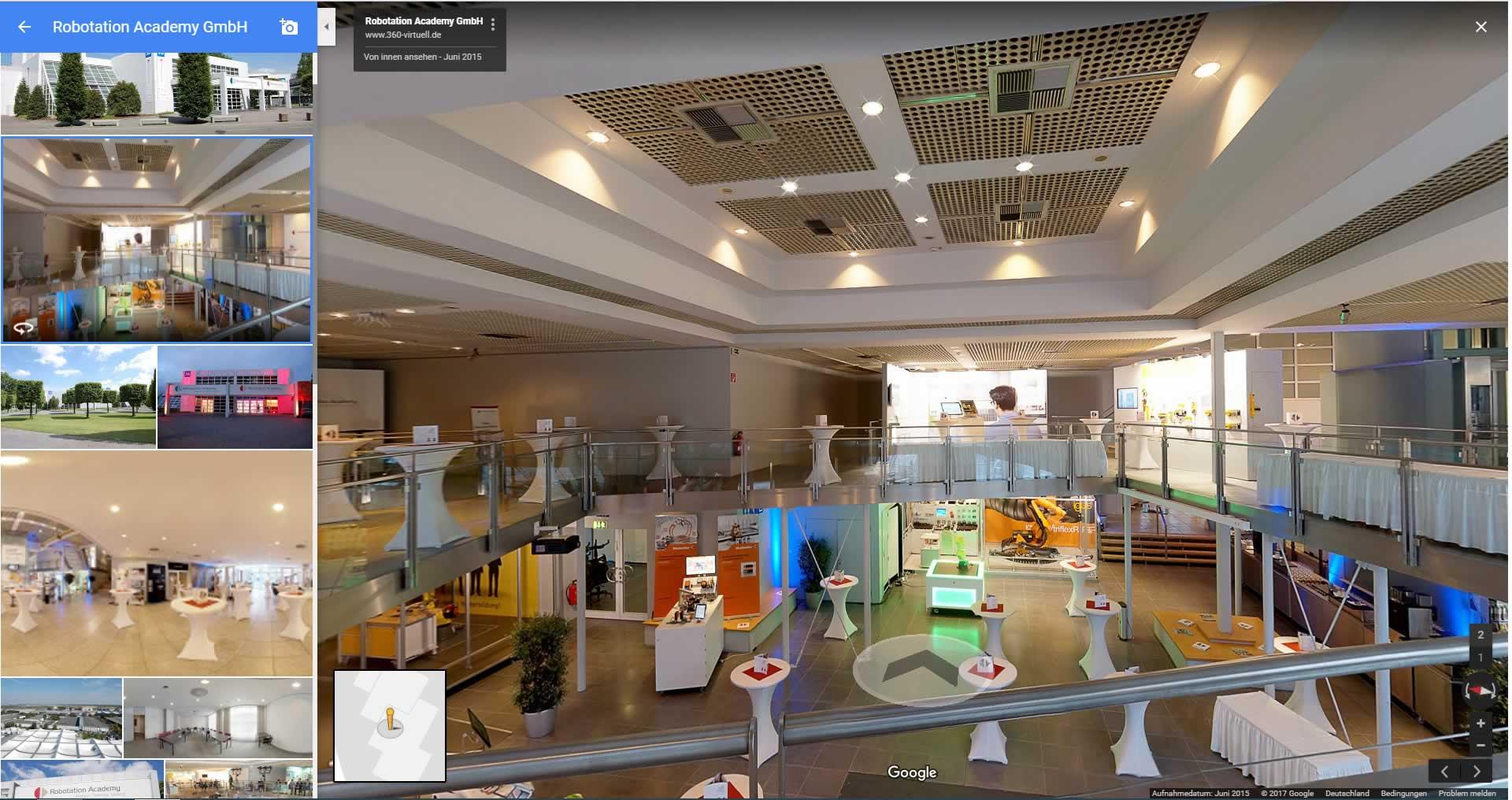Virtuelle Tour durchs Hotel