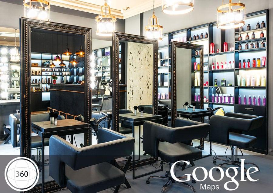Werbung Beauty Salon Und Friseur Mit Einem 360 Grad Virtual Tour