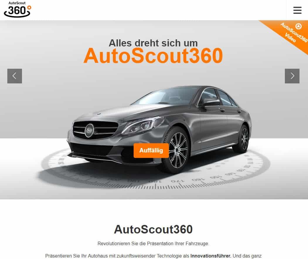 Autoscout24 360 Grad Video