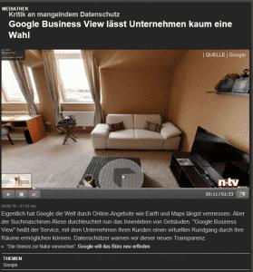 Google Maps 3D Rundgang ist ein virtueller Rundgang für Google.