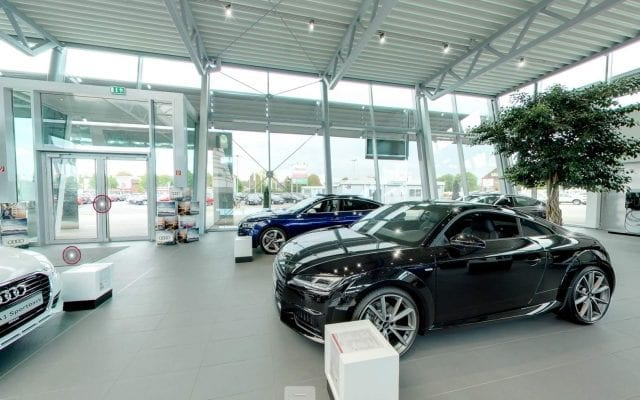 Virtueller 360 Grad Autohaus Rundgang
