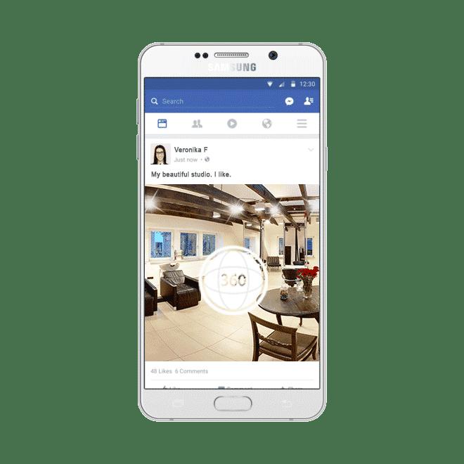 360 Grad Panorama Facebook