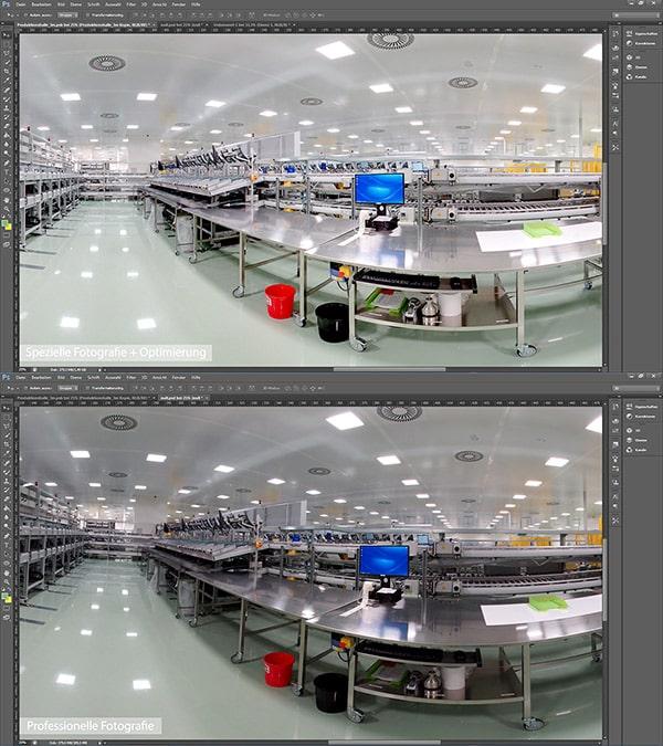 360 Grad Rundgang Fotografie