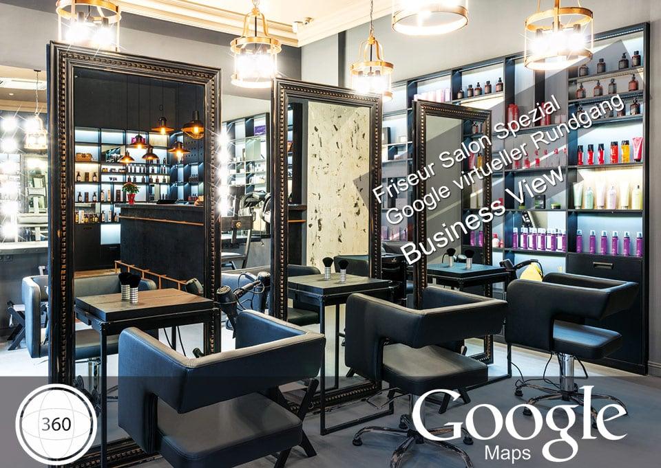 Friseur Salon Google Rundgang 360