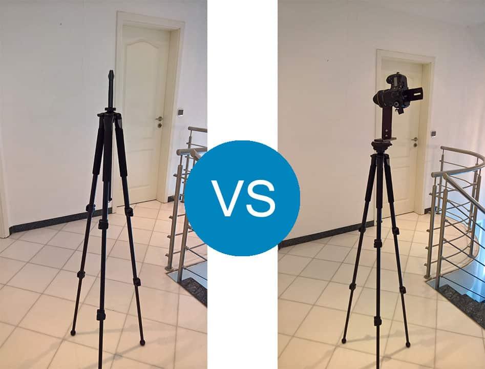 360 Grad Kamera im Test und Vergleich zur professionellen Fotografie