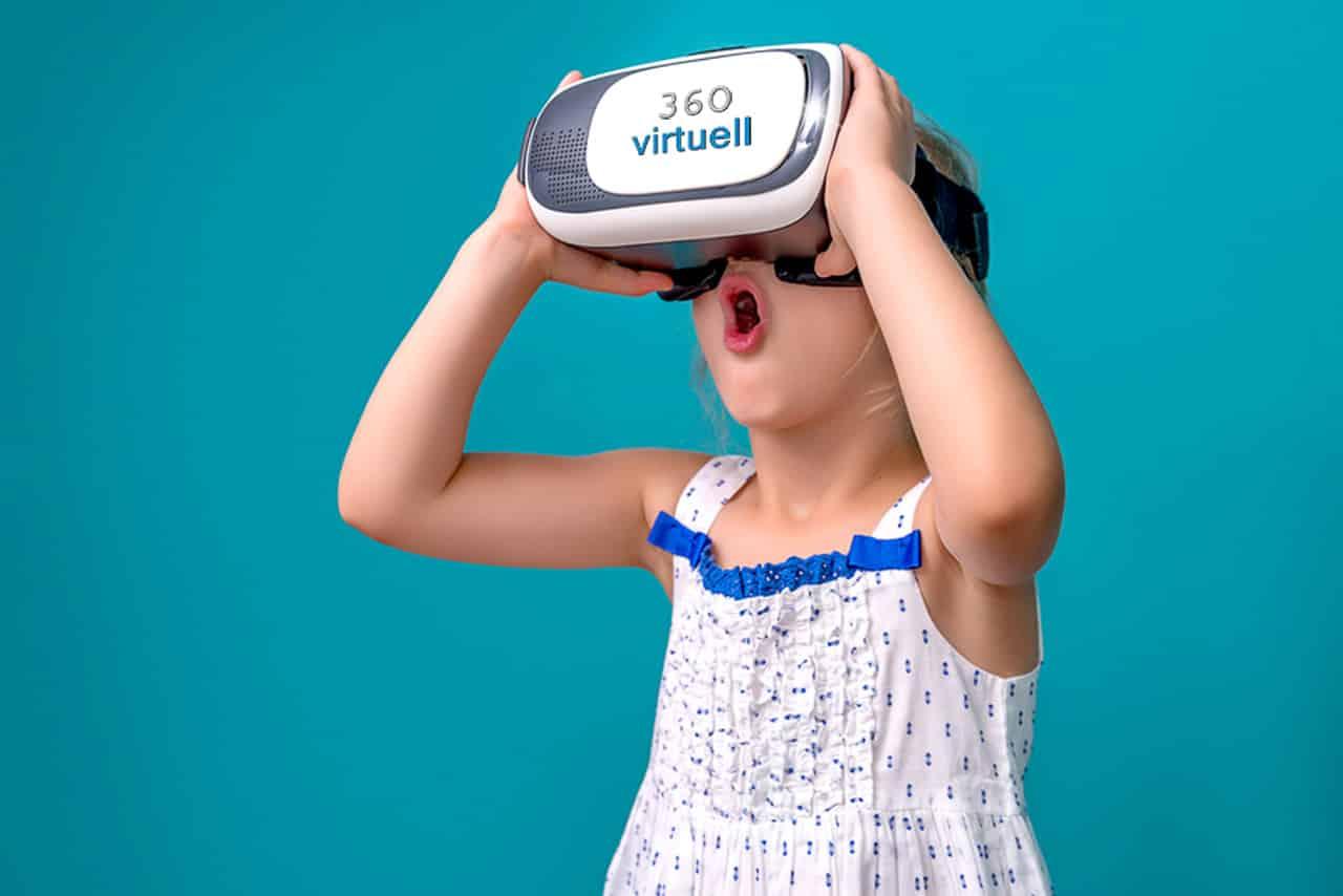 VR Virtual Reality Video
