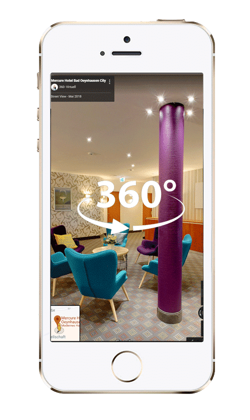 Virtual Reality VR Hotel App