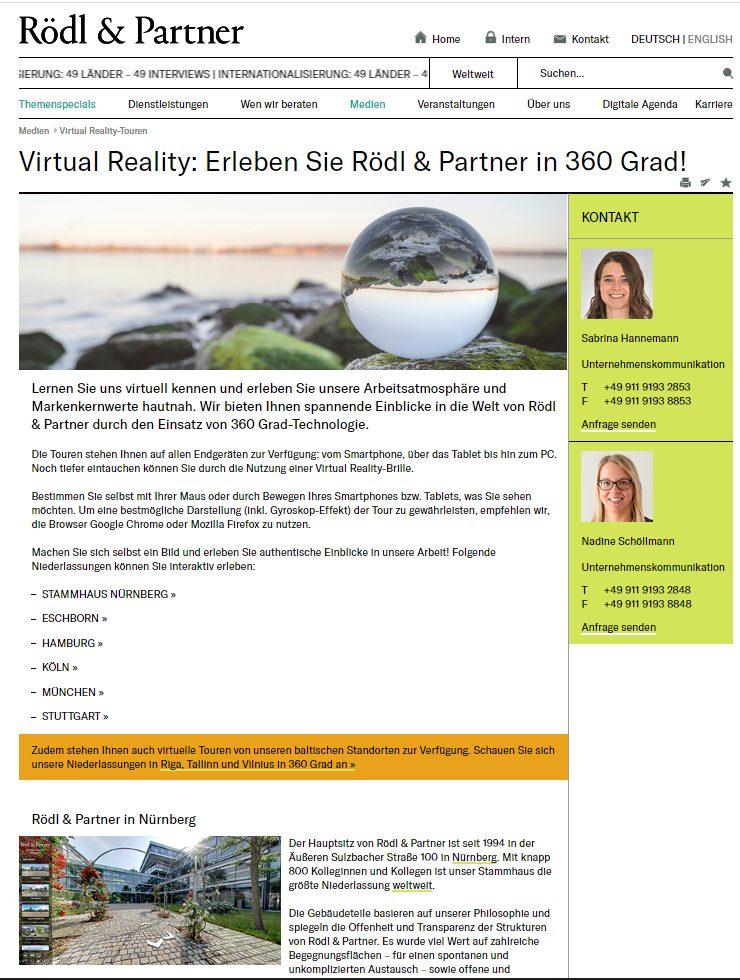 Virtual Reality im Unternehmen wird immer wichtiger und relevanter