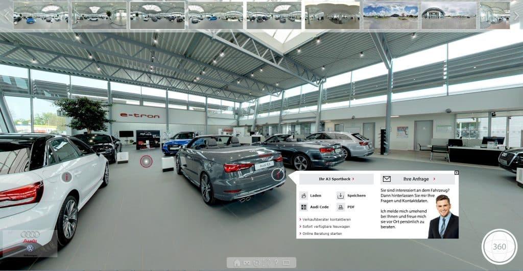 Virtueller 360 Grad Rundgang | Virtuelle Tour Kosten und Preise