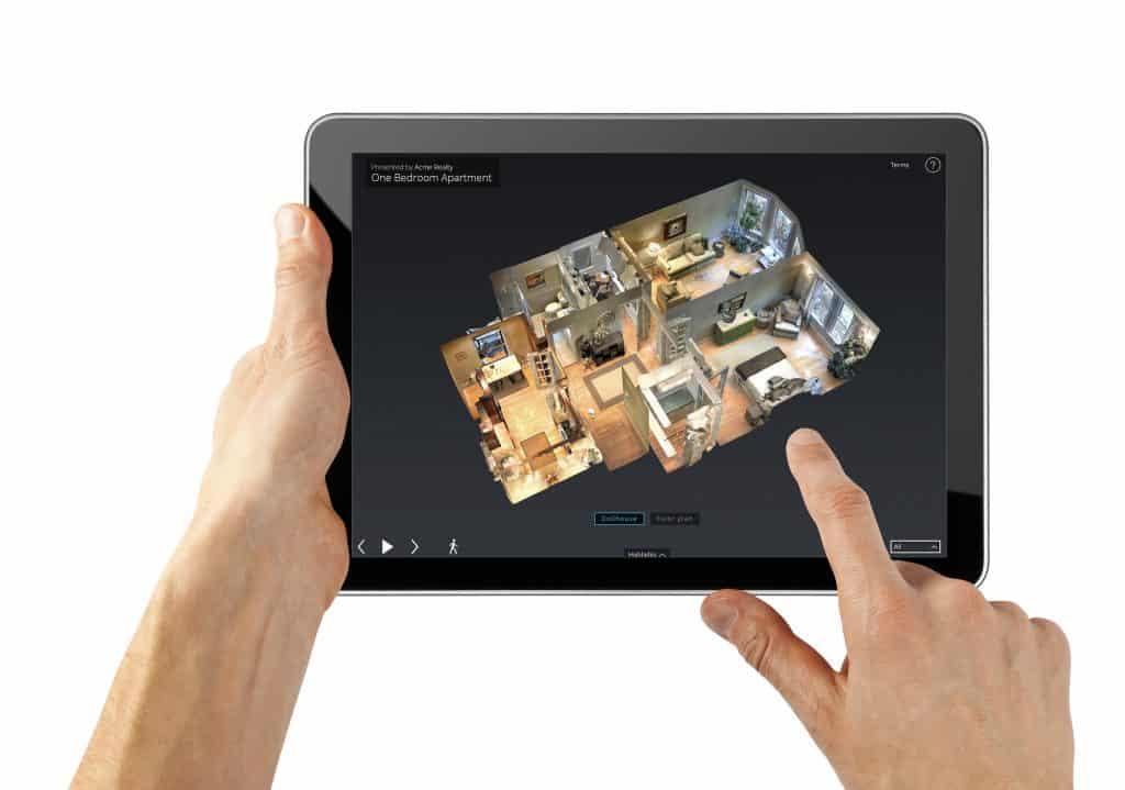 3D Scanner | 360 Grad Kamera | Matterport mieten