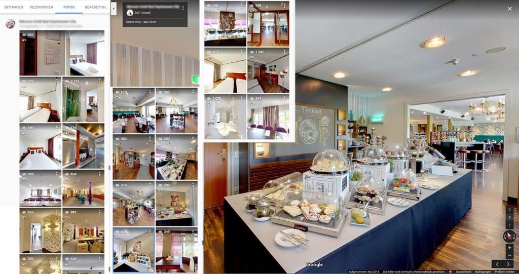 VR Seminarraum - Virtuelle 360 Grad Tagung