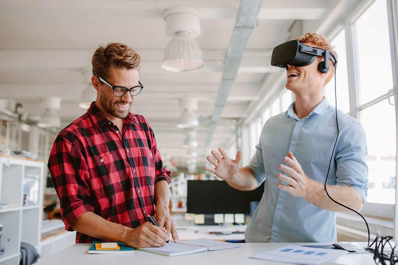 Virtual Reality Digitalisierung im Unternehmen