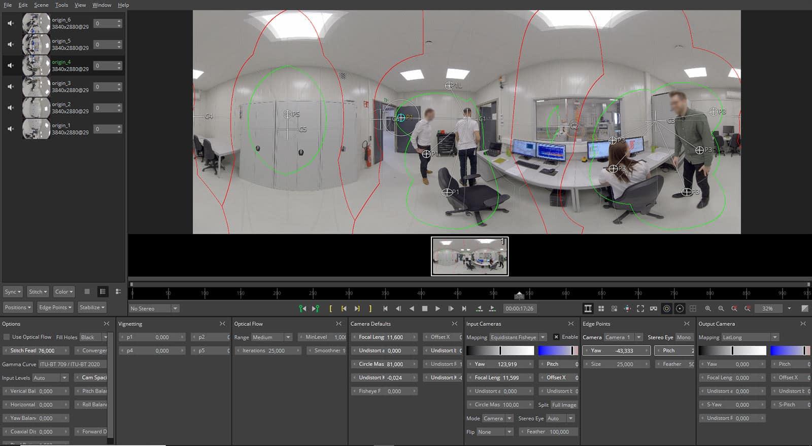 360 video schnitt und produktion